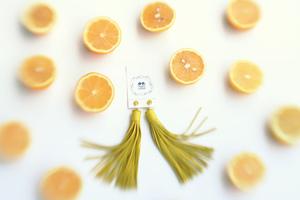 Серьги Лимонный Фрэш